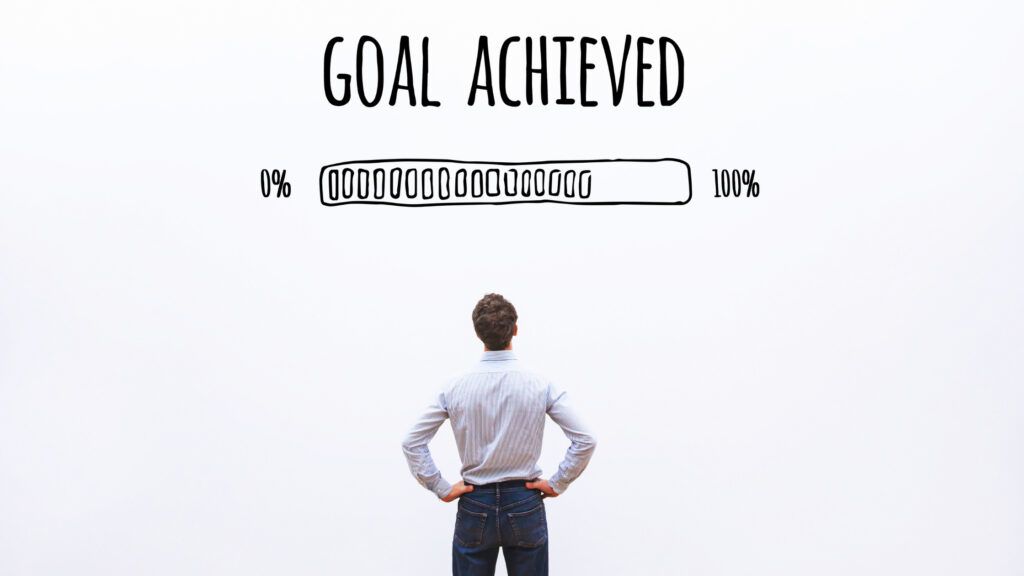 goal in sight