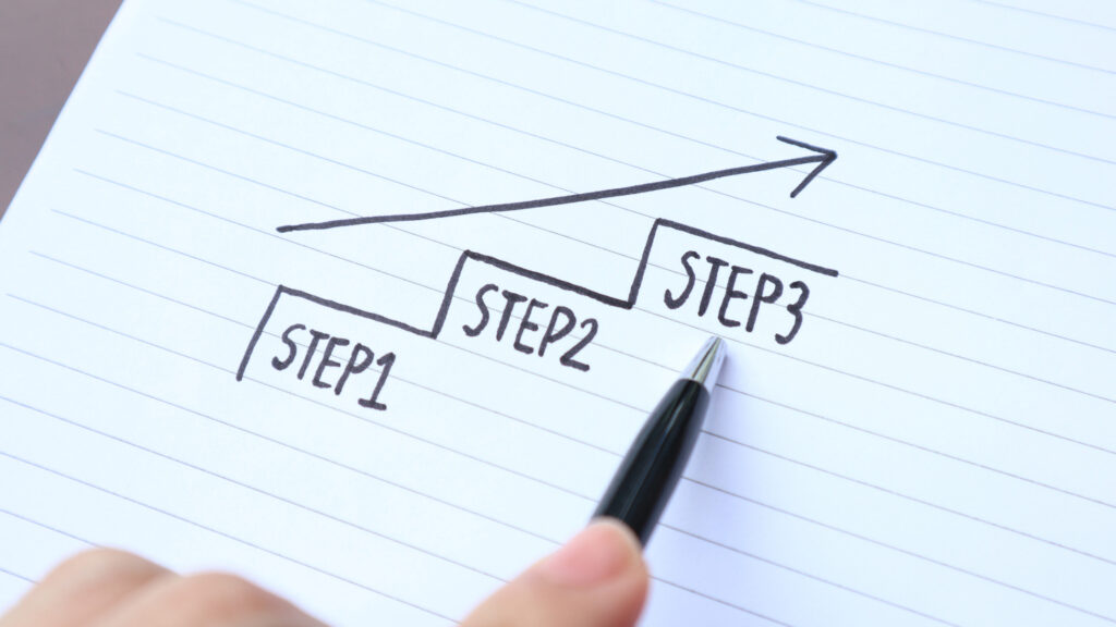 plan your steps