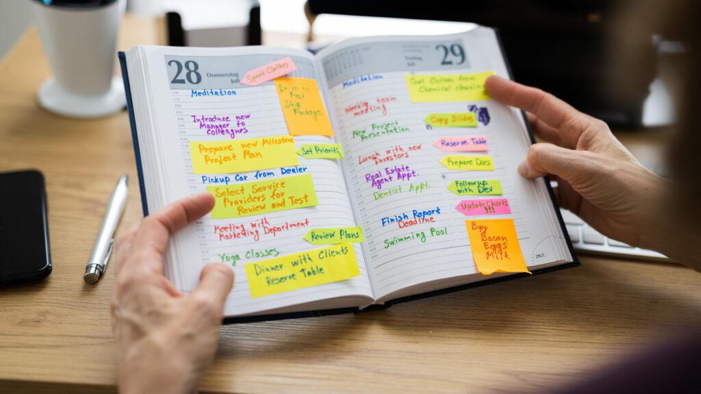 busy diary