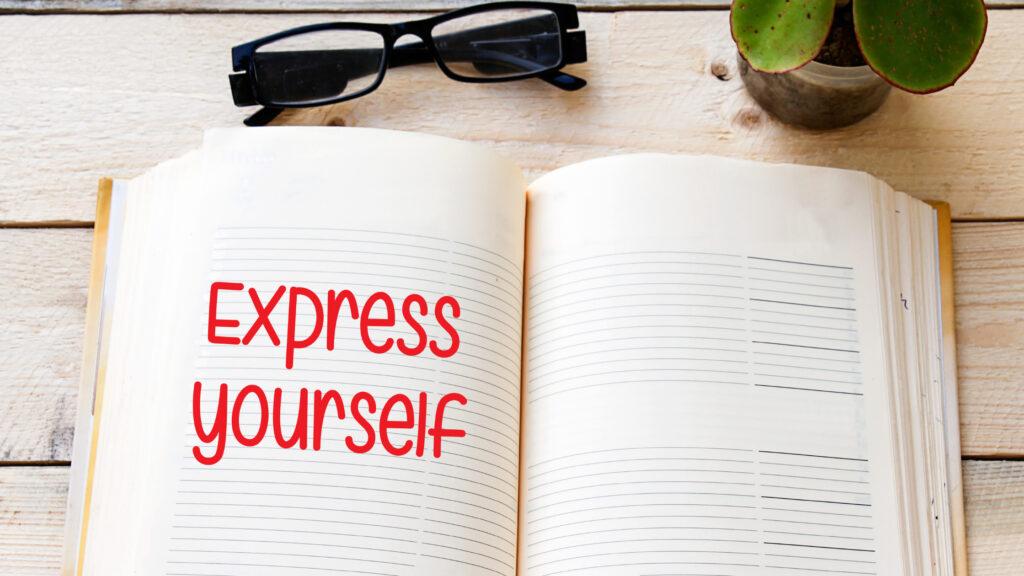 expressive writing through journaling