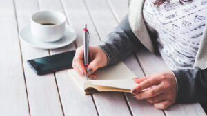self identity journaling