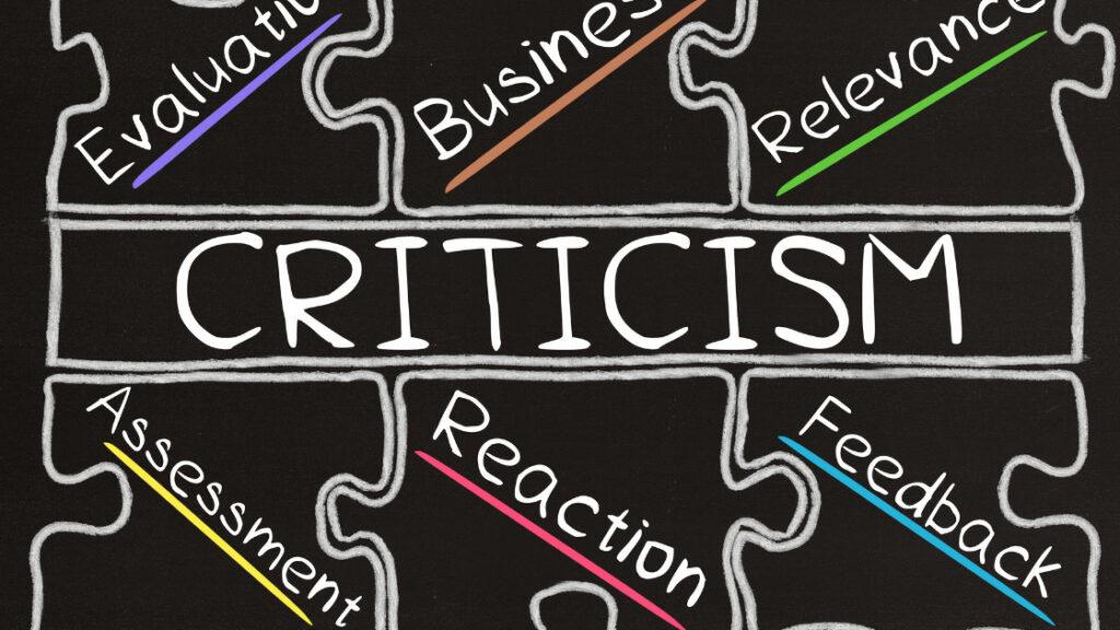 accept criticism