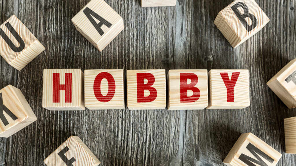 find a hobby